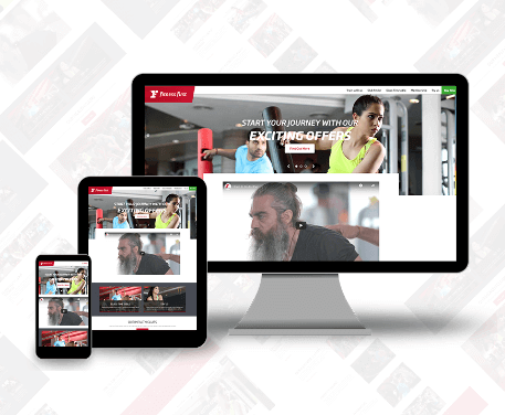 Fitness First Responsive Design
