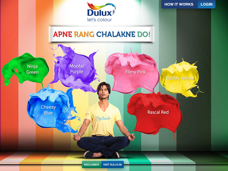 Splash your true Colours on Facebook with Dulux