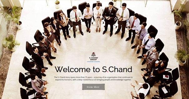 We're thrilled to announce the launch of S. Chand's corporate website!